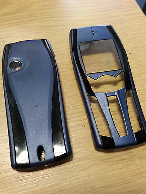 New for Nokia 7250 7250i Blue Front Fascia Housing & Battery Cover