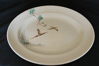 'The Coppice' Oval China Serving Plate by Royal Doulton