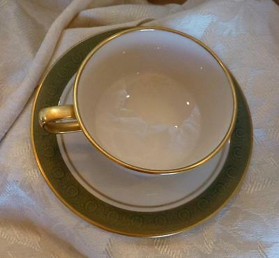 FRANCISCAN Antique Green Masterpiece Cup & Saucer (s)-Multiples Available