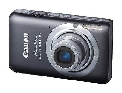 Canon PowerShot ELPH 100 HS 12.1 MP Digital Camera - Gray