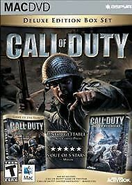 Call of Duty Deluxe Edition set includes United Offensive Mac version NEW SEALED