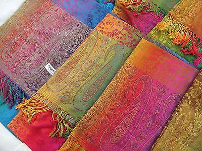 US SELLER-bulk lot 12pcs wholesale pashmina shawl scarf stole wrap