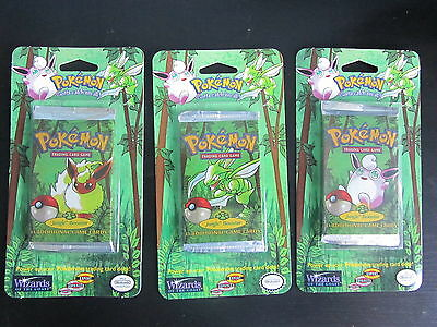 Pokemon Trading Card Game - Original Sealed Blister Booster Packs