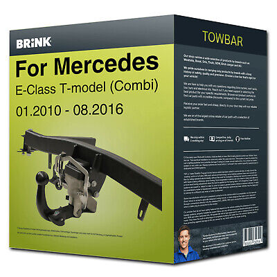 Towbar retractable ›for MERCEDES E-Class T-model 2010-2016 Brink NEW with manual