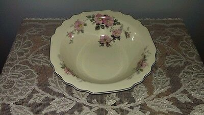 W.S. GEORGE Canarytone Vegetable Bowl  Made In USA