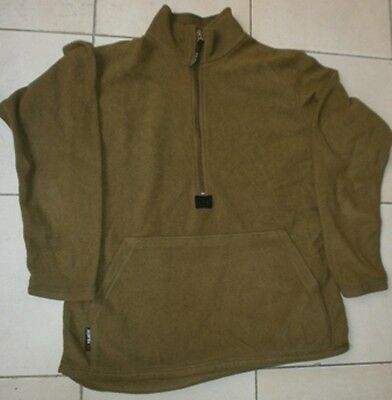 Us Army Polartec Fleece Pullover Jacket Coyote Brown Marines Usmc Medium