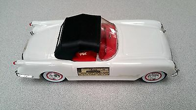 Jim Beam CORVETTE Whiskey decanter 1953 Corvette Coupe EMPTY