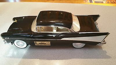 Jim Beam 1957 Chevy Bel Air Coupe Whiskey decanter EMPTY