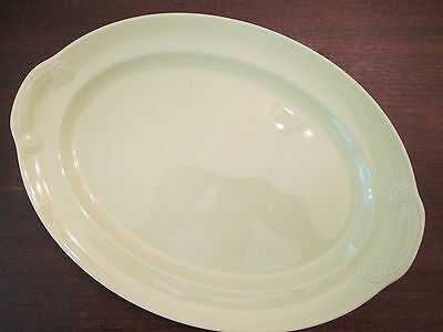 """13 1/2"""" OVAL PLATTER! Vintage TAYLOR SMITH TAYLOR LuRAY PASTELS line: EXCELLENT!"""