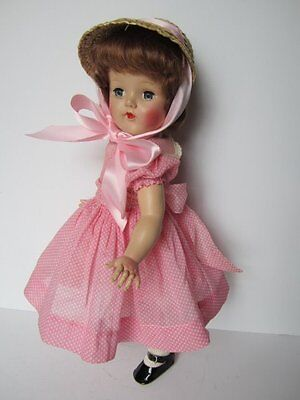 SHE HAS CAPTURED MY HEART~EARLY 1950's HARD PLASTIC DOLL~HORSMAN?