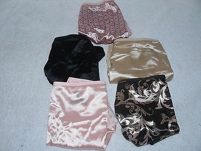 NWOT Hanes Womens Satin Stretch No Panty Lines Panties Different Colors Size 10