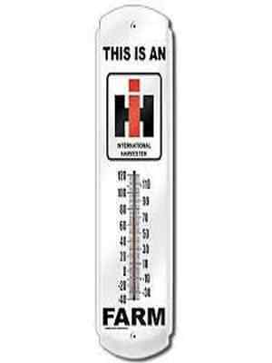 This is  I.H. Farm  Indoor / Outdoor Thermometer