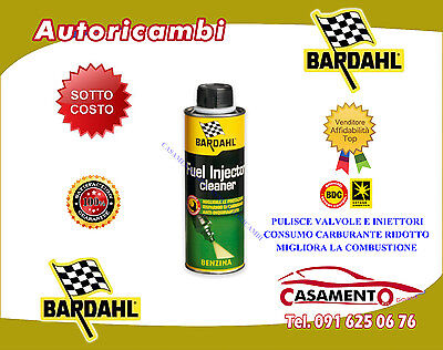 Pulisci Iniettori Bardahl Benzina Fuel Injector Cleaner Additivo Pulitore 300Ml