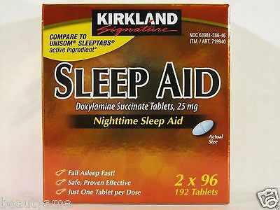 Kirkland Signature SLEEP AID, Doxylamine Succinate 25mg
