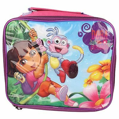 Childrens Dora The Explorer Lunch Bag In Pink Multi Style - 7886100