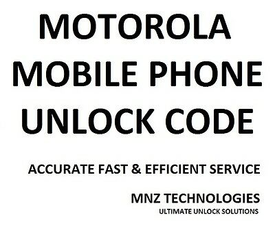 Motorola Unlock Code Moto E 2nd Generation - XT1524 All Countries Supported