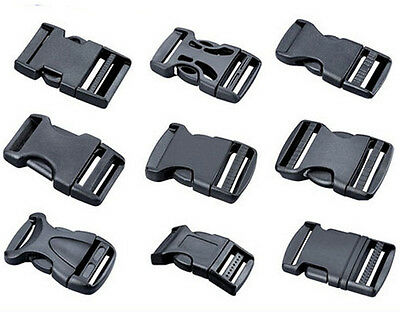 20 ~ 50 mm Side Release Plastic Buckle Safety buckle Clips For Webbing 0001 0017