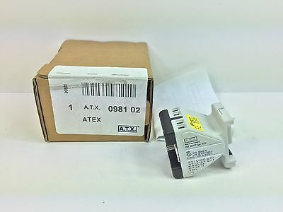 New! Atex / Atx Auxiliary Module 098102 98102