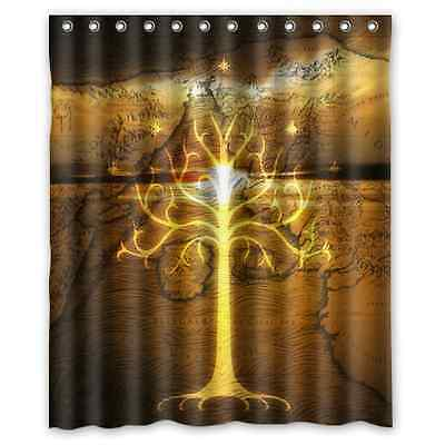 Tree of Gondor Lord of The Rings Custom Shower Curtain 60 x 72