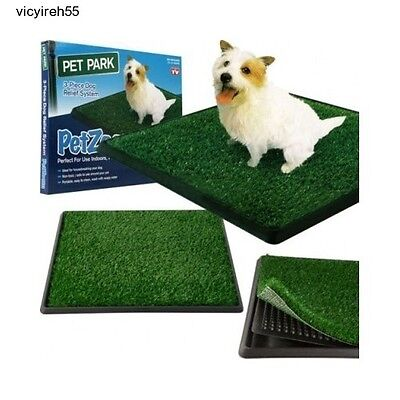 Dog Potty Training Puppy New Mat Indoor Pet Pads Patch Porch Trainer Grass Box