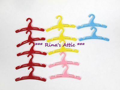 (Lot of 12) Vintage 1950's GINNY Plastic Doll Clothing HANGERS