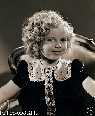 Shirley Temple curly haired cutie 8x10 rare photo