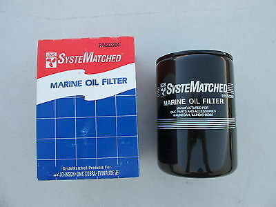 Lots Of 2 Omc Systematched Engine Oil Filter (#502904)
