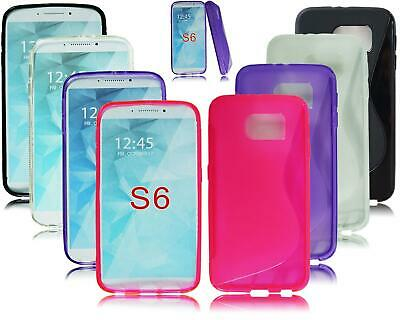 New Slim Gel Silicone Rubber Phone Case Cover For Samsung Galaxy S6 Sm-G920F