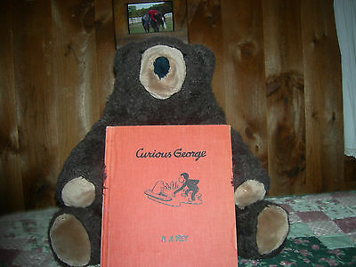 CURIOUS GEORGE H.A. REY 1941 HARD COVER BOOK FIRST EDITION