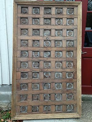 Headboard, Table Top,  Door, - Antique Hand Carved from India