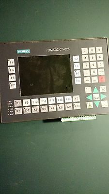Siemens C7-626 PLC processor,operator interface, I/O 6ES7626-2AG00-0AE3