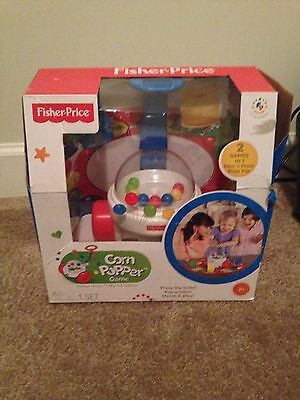 Fisher Price Corn Popper Game Toddler New Brilliant Basics Push Bingo 2 Pop 1