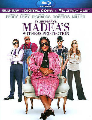 Tyler Perry's Madea's Witness Protection (Blu-ray Disc, 2012)