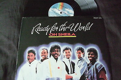 "READY FOR THE WORLD 12"" Oh Sheila"