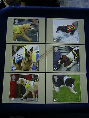 2008  gb working dogs set phqs mint condition