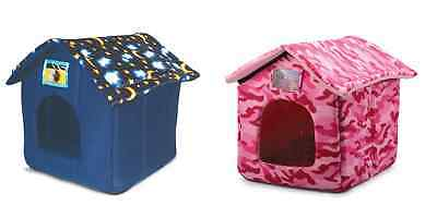 Ancol Cat Kitten Small Dog Puppy Hooded Bed Igloo Cave House Soft Comfy Kennel