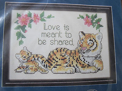 MEANT TO BE SHARED  ~ Dimensions Counted Cross Stitch Kit
