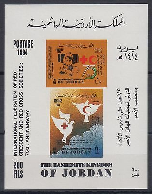 Jordanien Jordan 1994 ** Bl.75 Rotes Kreuz Red Cross Kind Child Red Crescent