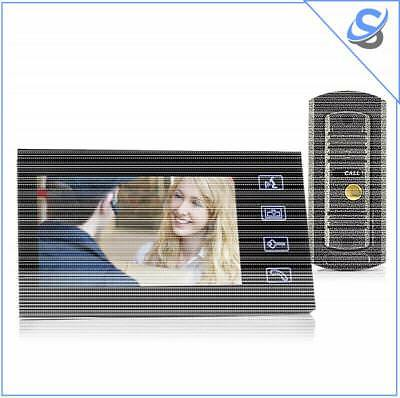 7 Inch Video Door Phone And Camera Set - Night Vision Vandal Proof