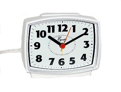 Equity by La Crosse 33100 Electric Alarm Clock with Lighted Dial, New