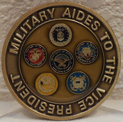 Military Aids to the Vice President of the United States Challenge Coin VPOTUS
