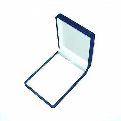 New 1-6-12- 24-48-144 pcs Blue Velvet Small Necklace Jewelry Display Gift Boxes