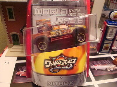 HOT WHEELS HIGHWAY 35 WORLD RACE DUNE RATZ #28 MEGA DUTY