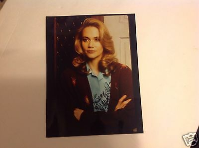 PEGGY LIPTON of TWIN PEAKS in person signed autographed photo THE MOD SQUAD