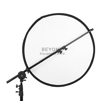 Professional Photo Studio Reflector Extendable Holding Arm Boom Stand Clamp