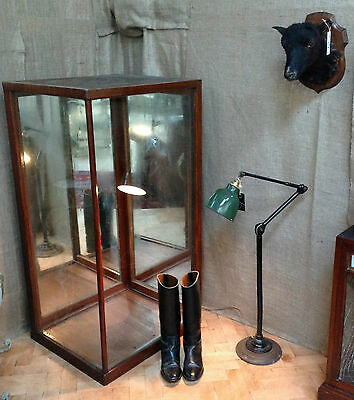 19th Century Shop Corner Display Cabinet