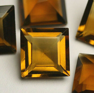 1CITRIN 8X8 Maderia GOLD-GELB! Carree 2,0Ct!!!