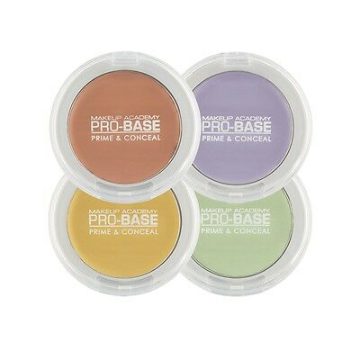 MUA PRO-BASE Prime & Conceal Tone Correcting Concealer Corrective Shades NEW IN!