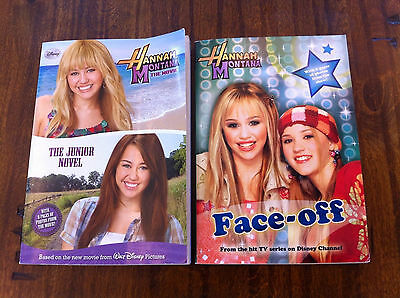 Hannah Montana by Disney Book Group Staff 2009, Paperback & Face-Off, Miley Cyru