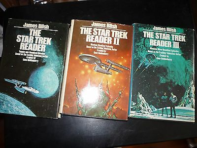 The Star Trek Reader I, II and III Hardcover James Blish